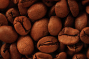 Jouko Mikkola Metal Prints - Coffee beans Metal Print by Jouko Mikkola