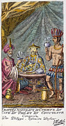 Coffee, Tea & Chocolate, 1685 Print by Granger