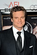 Pocket Square Prints - Colin Firth At Arrivals For Afi Fest Print by Everett