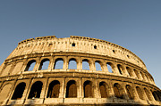 Tourism Framed Prints - Coliseum. Rome Framed Print by Bernard Jaubert
