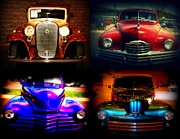 Multiples Photos - Collector Cars by Susanne Van Hulst