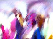 Color Dance Print by Anil Nene