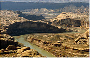 Bad Lands Prints - Colorado River Print by Gary Rose