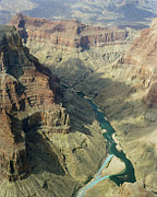 River Framed Prints Prints - Colorado River in the grand Canyon Print by M K  Miller