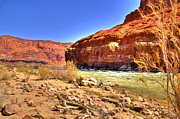 Northern Colorado Photo Prints - Colorado River  Print by Jon Berghoff