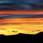 Colorado Sunrise Print by Bronze Riser
