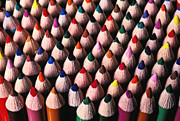 Color Pencils Posters - Colored pencils Poster by Garry Gay