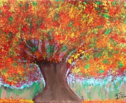 Colors Of Fall Print by Paulette Ingersoll