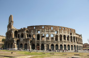 Person Prints - Colosseum. Rome Print by Bernard Jaubert
