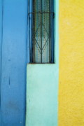 Locations Prints - Colourful doorstep in Trinidad Print by Sami Sarkis
