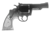 Firearm Accessories Prints - Colt 357 Magnum X Ray Photograph Print by Ray Gunz
