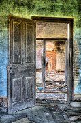 Abandoned Houses Prints - Come on In Print by JC Findley