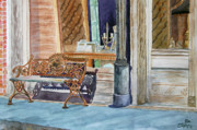 Antiques Paintings - Come Sit a Spell by Ron Stephens