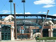 Baseball Originals - Comerica Park by Keith Mendelssohn