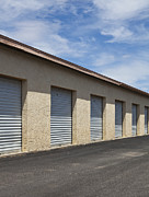 Storage Framed Prints - Commercial Storage Facility Framed Print by Paul Edmondson