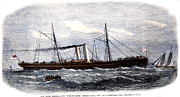 U.s Army Framed Prints - Confederate Warship, 1865 Framed Print by Granger