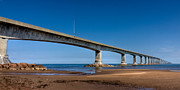 Trans-atlantic Posters - Confederation Bridge Poster by Matt Dobson