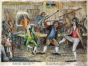 Congressional Pugilists Print by Granger