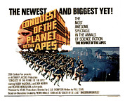 Planet Of The Apes Posters - Conquest Of The Planet Of The Apes Poster by Everett