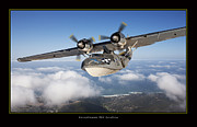 Aviation Poster Art - Consolidated PBY Catalina by Larry McManus