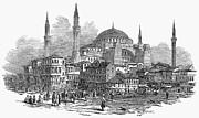 Constantinople: St. Sophia Print by Granger