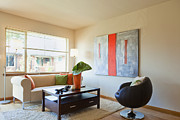 Showcase-interior Prints - Contemporary Living Room Print by Inti St. Clair