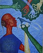 Figurative Tapestries - Textiles - Conversation with Tradition by Leonard Bey