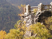 Turning Leaves Prints - Coopers Rock Overlook Print by Mark Lehar