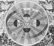 Macrocosmica Framed Prints - Copernican World System, 17th Century Framed Print by Science Source
