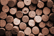 Wine Cellar Photos - Cork wine by Isabel Poulin