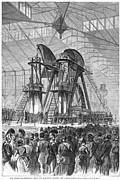 Corliss Steam Engine, 1876 Print by Granger