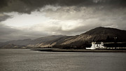 Argyll And Bute Posters - Corran lighthouse Poster by Gary Eason