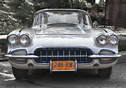 Antique Automobiles Photos - Corvette by Brian Mollenkopf
