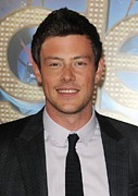 Cory Framed Prints - Cory Monteith At Arrivals For Glee The Framed Print by Everett