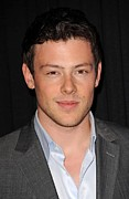 Cory Framed Prints - Cory Monteith In Attendance For Fox Framed Print by Everett