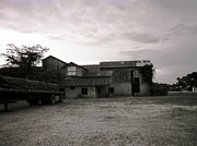 Bourke White Prints - Cotton Gin- Baskin Louisiana Print by Doug  Duffey