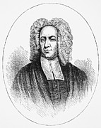 Colonist Framed Prints - Cotton Mather (1663-1728) Framed Print by Granger
