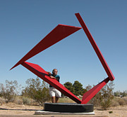 Outdoor Sculpture Sculptures - Counterpoint by John Neumann