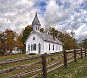 Country Church Prints - Country Church Print by Brian Mollenkopf