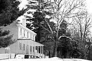 Old School House Photos - Country House by John Rizzuto