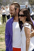 Courteney Cox Posters - Courteney Cox , David Arquette Poster by Everett