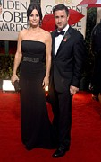 Evening Gown Photos - Courteney Cox Wearing A Victoria by Everett