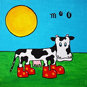 Moo Originals - Cow by Sheep McTavish