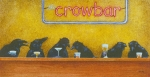 Crow Prints - Crowbar... Print by Will Bullas