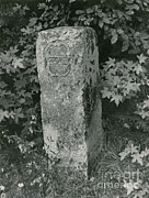 Dixon Prints - Crownstone Marker Along Mason-dixon Line Print by Photo Researchers