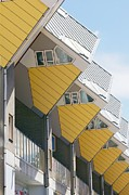 Piet Prints - Cube Houses, The Netherlands Print by Colin Cuthbert