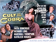 1955 Movies Posters - Cult Of The Cobra, Marshall Thompson Poster by Everett