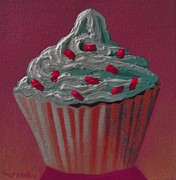 Ice Hotel Metal Prints - Cupcake Delight Metal Print by John  Nolan