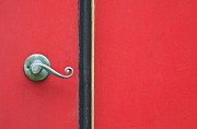 Red Door Prints - Curly Print by Dan Holm