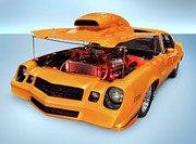 Car Art - Custom Muscle Car by Oleksiy Maksymenko